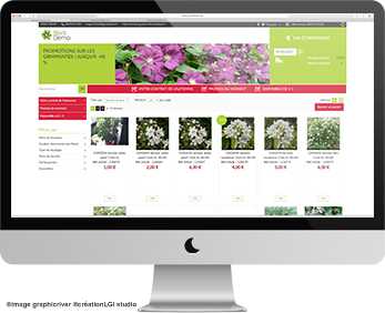 Horti Shop Vente par internet en B to B
